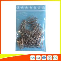 Zip Seal Plastic Packing Ziplock Bags Resealable With Symbol Ree Line On The Flap Manufactures