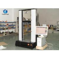 Electric Cable Tensile Rubber Testing Equipment With Computer Controlled Manufactures