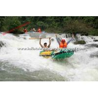 Outdoor Adventure Inflatable Rafting Boat With Durable Reinforcement Strips Manufactures