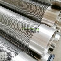 China Stainless steel johnson screen 304 wedge wire welding strainer screens on sale
