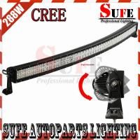 New Curved 50'' 288W CREE Led Light Bar 4x4 Truck Driving Light Off road Spot Flood Combo Manufactures