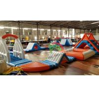 Waterproof PVC King Inflatable Floating Water Park For Adult & Kids