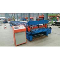 Full Automatic Roof Tile Cold Roll Forming Machines Double Color Steel Roll Forming Machine Manufactures