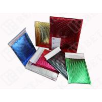 Aluminum Metallic Mailing Bags Envelopes With Bubble Wrap Inside Manufactures