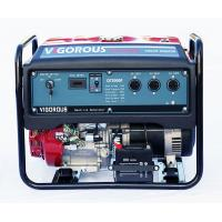 China China Munufacturer Portable Backup Gasoline Power Generator 5500 Watt For Bank Use on sale