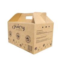 Strong High Quality Origin Brown Corrugated Packaging Box for Pet Carrier Use Manufactures