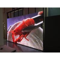 China P4 64*32 Pixels Indoor LED Screens , Super Bright SMD Full Color Mini Led Display on sale
