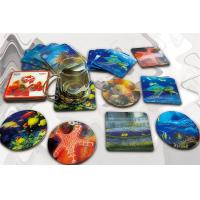 Customized lenticular 3D cup coaster with deep 3D effect Manufactures