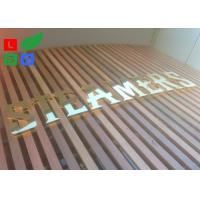 AC 100 - 245V LED Channel Letter Signs Energy Saving For Decoration Signature Manufactures