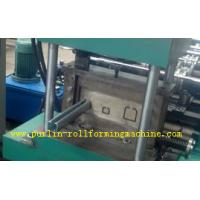 Metal Stud And Track Roll Forming Machine , Steel Plate Rolling Forming Machines Manufactures