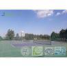 Outdoor Indoor Tennis Court Flooring , Modular Tennis Court Easy To Install Manufactures
