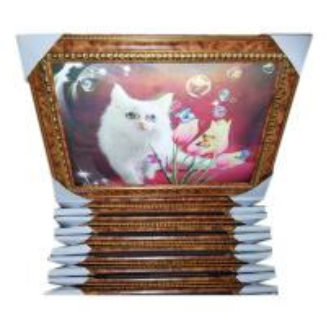 PS frame foam frame 3d framed picture for home decoration Manufactures