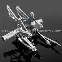 CNC Milling Motorcycle Rear Sets , Honda Rear Sets For Honda Cafe Racer Parts Manufactures