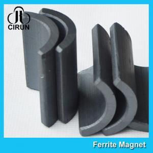 Y30 Grade Permanent Ferrite Arc Magnet For DC Motor Multipurpose Use Manufactures