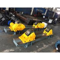 120 Ton Tank Turning Roller Bed for Offshore Construction 6m Diameter Double Driver Manufactures