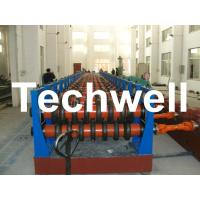 180KW Silo Steel Corrugated Panel Roll Forming Machine For Silo Side Panel TW-SILO Manufactures