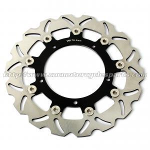 Aluminum Front Motorcycle Brake Disc Set Yamaha YZF R3 FZ6 XJ6 CNC Machining Manufactures