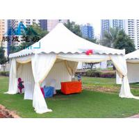 Outdoor Pagoda Shade Shelter Canopy Temperature Resistance For Backyard Parties Manufactures