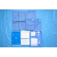 China Anti Static Single Use Non Woven Surgical OB Pack Disposable Sterile Pack for sale