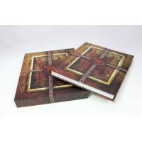 Custom Offset Hardcover Book Printing With Slipcase / Matt Art Paper Albums Manufactures