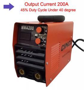 MMA 200 Inverter Welder / Aluminum Welding Equipment For Automobile Maintenance Manufactures