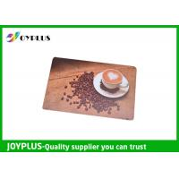 Customized Color / Size Restaurant Table Mats , Square Table Placemats PP Material Manufactures