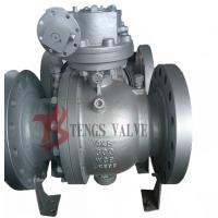 Flanged Trunnion Soft Seated Ball Valve , Cast Steel WCB WCB Ball Valve Split Body Manufactures