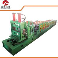 China 11 KW Steel Ceiling Channel Roll Forming MachineFor Construction Purlin Making on sale