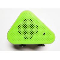 Green 5W * 2 Portable Bluetooth Wireless Speakers Micro USB ABS Fabric A2DP / AVRCP / TF Manufactures