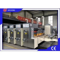 Buy cheap 150pcs Automatic Two Colour Flexo Printing Machine For Corrugated Carton from wholesalers