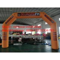 Foot Promotion Inflatable Arch For Advertising / Sports Manufactures