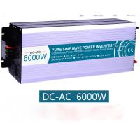 Pure sine wave inverter off Grid DC AC Solar Power Inverter 3000W Peak Power 6000W 12V 220V Manufactures