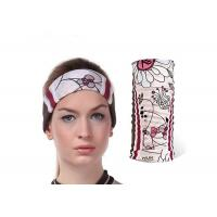 Soft Touch Fishing Neck Scarf Water Droplets Pattern Low Fiber Properties Absorb Sweat Manufactures
