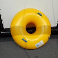 Quality Customizable Inflatable Swim Ring Color Single Double Cartoon Candy Inflatable Laps for sale