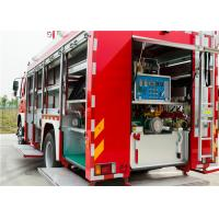 Capacity 300kg Dry Powder Airport Fire Truck Engine Power 440kw For Fire Rescue Manufactures