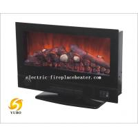 China Contemporary 2 In 1 Wall Mount Electric Fireplace Stove Heater For Office / Home on sale