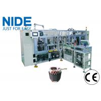 Conveyor type automatic stator coil lacing machine  with Four station Manufactures