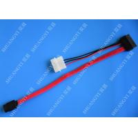 SATA 3.0 6Gbps SATA Data Cable , 4 Pin IDE LP4 Power SATA Cable Length 40cm Manufactures