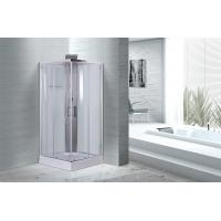 White silding simple 900 x 900 x 2170 Square  cabin shower cabin , CE Certificated Manufactures