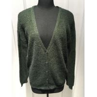 Ladies Oversize Button Front Cardigan Sweater , V Neck Cardigan Women'S Sping / Autumn Manufactures