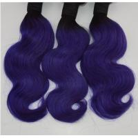 China Fashion Virgin Brazilian Hair For Black Women 100% Unprocessed 1B/Blue Body Wave Hair Extension 6A-8A Remy Hair In Stock on sale