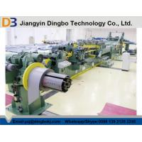 China Coil Steel Cut To Length Machine With Safety Operation 1600mm Strip Width on sale