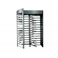 Stainless Steel Full Height Turnstile Automatic Security Tri-Channnel Turnstile Gate Manufactures