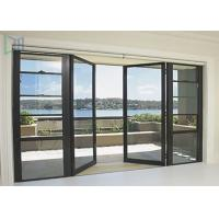 Quality Soundproof Glass Double Outswing Exterior Door Powder Coating Finished for sale