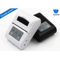 China White Irda Portable Thermal Printer Bluetooth Android For Clinical Analyzer on sale