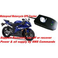 Waterproof Motorcycle Mini GSM SMS GPRS GPS Tracker Locator W/ Cut-off Oil & Power By SMS Manufactures