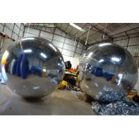 Charming Advertising Inflatable Mirror Ball Theme Park Family Toys Manufactures