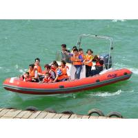 Heavy Duty Inflatable RIB Boats Inflatable River Boats For Kids / Adults Manufactures