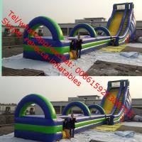 Gaint Cheap Inflatable Water Slides For Sale big kahuna inflatable water slide slip n Manufactures