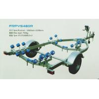 Quality Popular Corrosion Resistance Galvanized FRP Boat Trailers With Rollers for sale